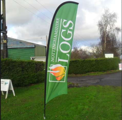 Outdoor Popular Welcome Swooper Flags For Advertising