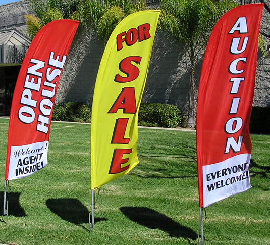 Factory Cheap Wholesale Custom Swooper Flags Canada